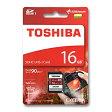 SDカード 16GB 東芝【送料無料/メール便】16ギガ SDHC クラス10 UHS-1 TOSHIBATHN-N302R0160A4 90MB/s
