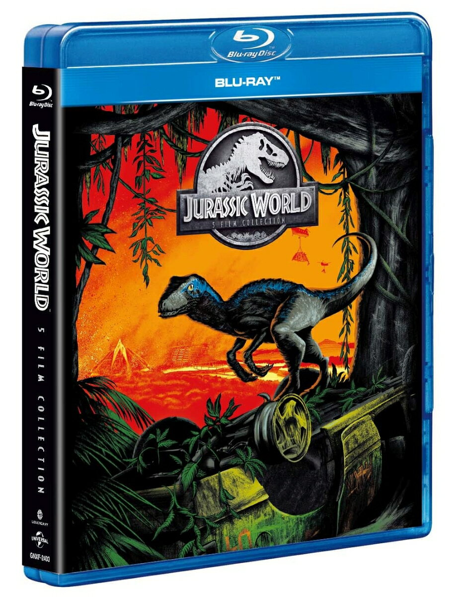 ジュラシック・ワールド 5ムービー ブルーレイ コレクション【Blu-ray】