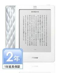【送料無料】kobo Touch (シルバー)1年延長保証付き