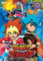 『遊☆戯☆王SEVENS』 Blu-ray DUEL-1 (初回限定仕様『遊戯王ラッシュデュエル』特典カード付)【Blu-ray】