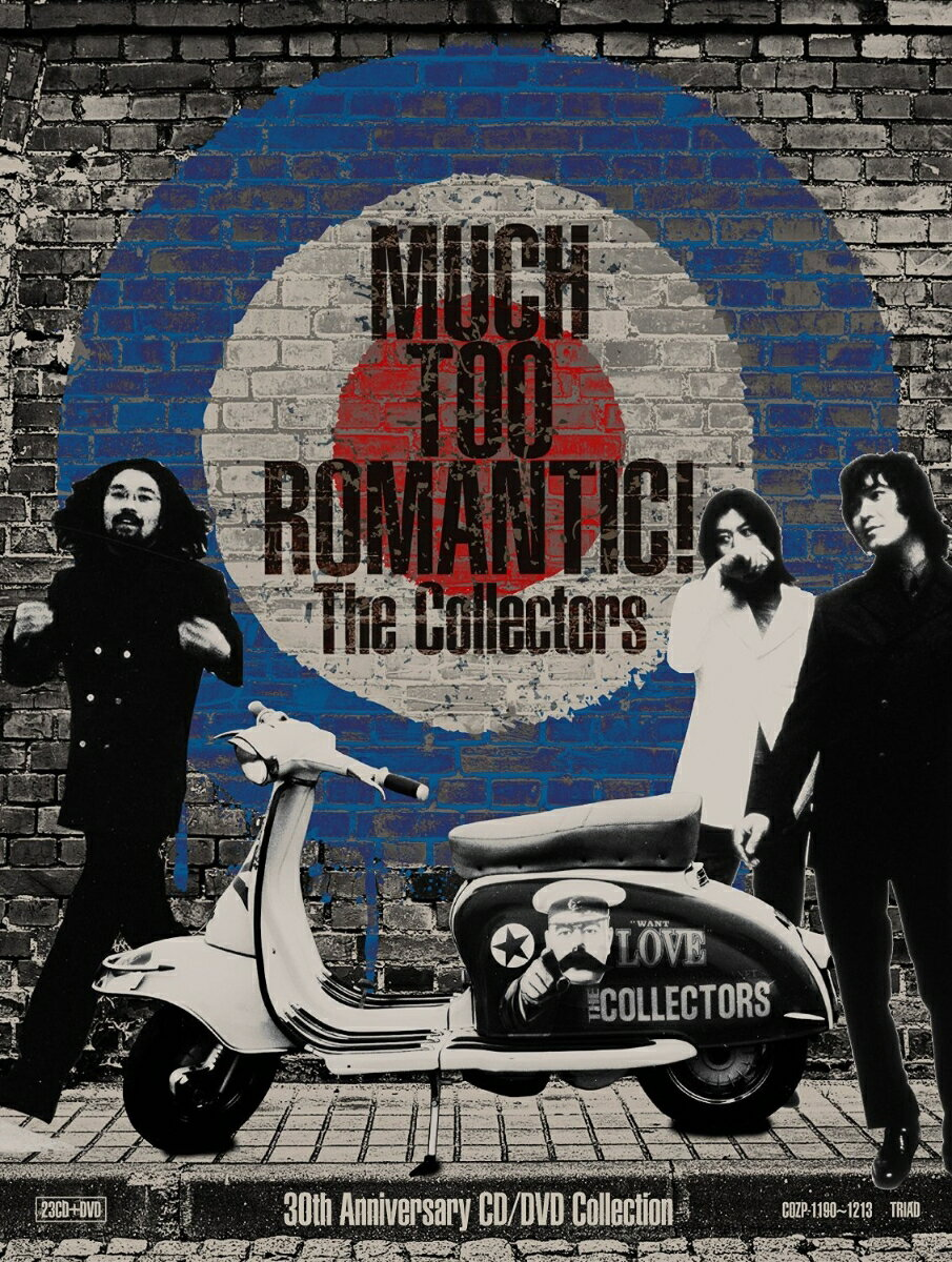 MUCH TOO ROMANTIC!〜The Collectors 30th Anniversary CD/DVD Collection画像
