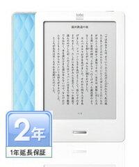 【送料無料】kobo Touch (ブルー)1年延長保証付き