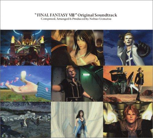 FINAL FANTASY VIII ORIGINAL SOUNDTRACK画像