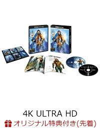 【楽天ブックス限定先着特典】アクアマン <4K ULTRA HD&ブルーレイセット>(2枚組/ブックレット&キャラクターステッカー付)(初回仕様)(コレクターズカード付き)【4K ULTRA HD】