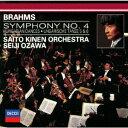 ブラームス:交響曲第4番 ハンガリー舞曲第5・6番 [ サイトウ・キネン・オーケ