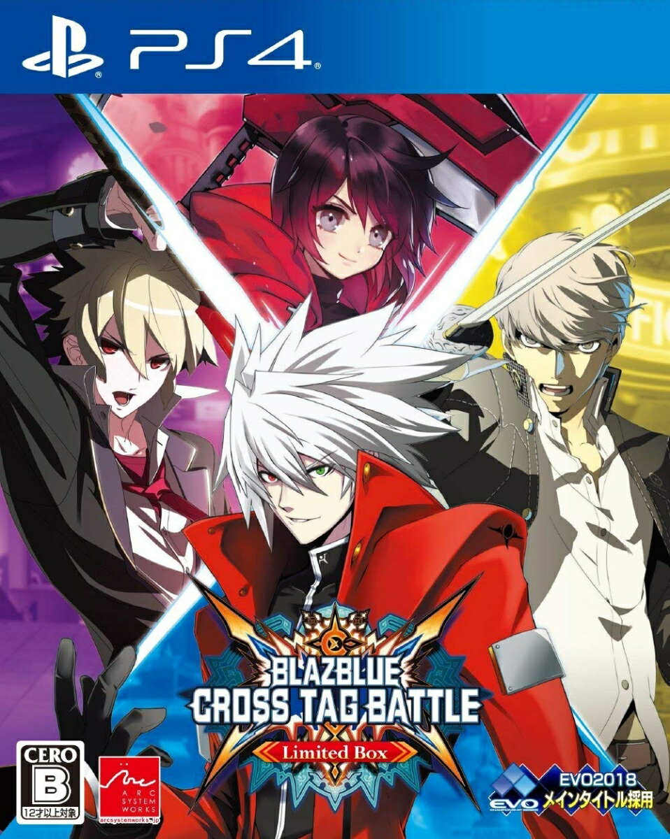 BLAZBLUE CROSS TAG BATTLE Limited Box PS4版画像