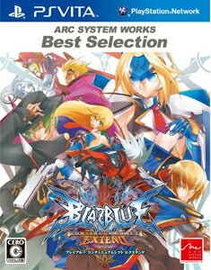 ARC SYSTEM WORKS Best Selection BLAZBLUE CONTINUUM SHIFT EXTEND画像