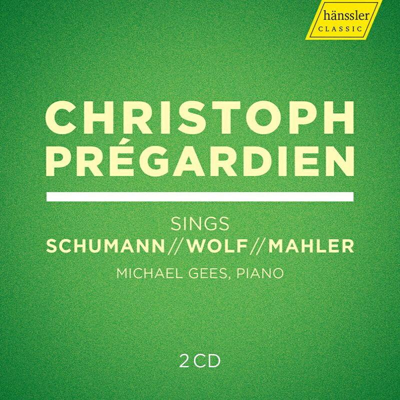【輸入盤】歌曲集〜マーラー、ヴォルフ、 シューマン クリストフ・プレガルディエン、ミヒャエル・ゲース(2CD)画像