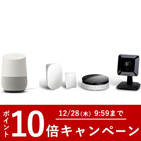 Google Home +【スマートホーム】intelligent HOME Starter Kit type A 2年ライセンス&設定サポートチケット込み セット