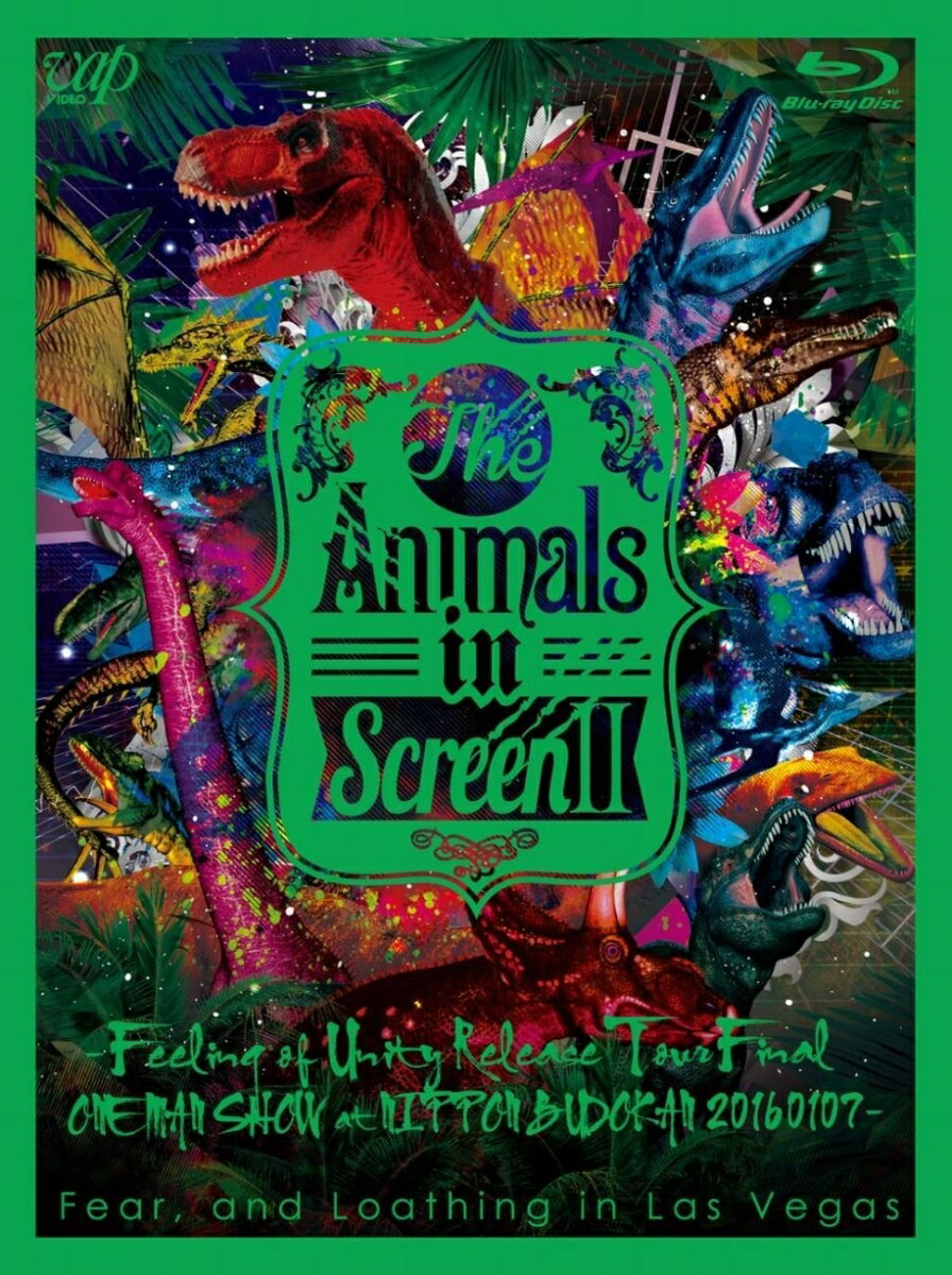 The Animals in Screen 2-Feeling of Unity Release Tour Final ONE MAN SHOW at NIPPON BUDOKAN 20160107-【Blu-ray】画像