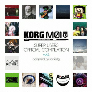 【送料無料】KORG M01D Super Users Official Compilation vol.1 [ sanodg ]