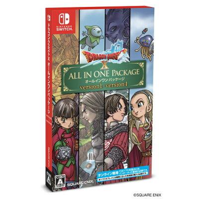 ドラゴンクエストX オールインワンパッケージ(version1〜4) Nintendo Switch版