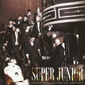 SUPER JUNIOR JAPAN LIMITED SPECIAL EDITION -SUPER SHOW3 開催記念盤ー(CD+DVD)画像
