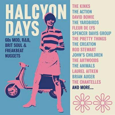 【輸入盤】Halcyon Days: 60s Mod, R & B, Brit Soul & Freakbeat Nuggets (Clamshell Boxset) (3CD)画像