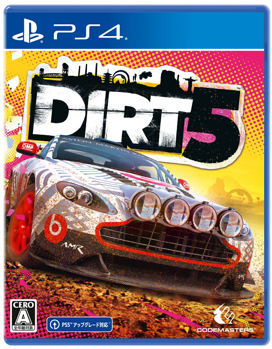 【特典】DIRT 5 PS4版(【初回封入特典】ダウンロードコンテンツ)