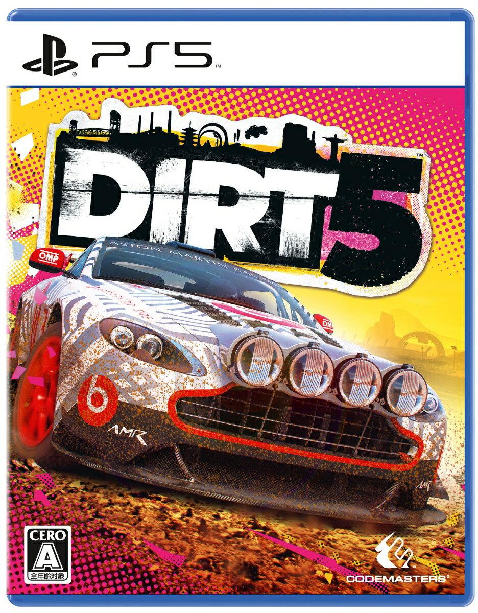 【特典】DIRT 5 PS5版(【初回封入特典】ダウンロードコンテンツ)
