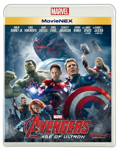 【ポストカードセット付】アベンジャーズ/エイジ・オブ・ウルトロン MovieNEX 【Blu-ray】