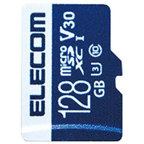 MicroSDXCカード/データ復旧サービス付/ビデオスピードクラス対応/UHS-I U3 80MB/s 128GB(Nintendo Switch対応)