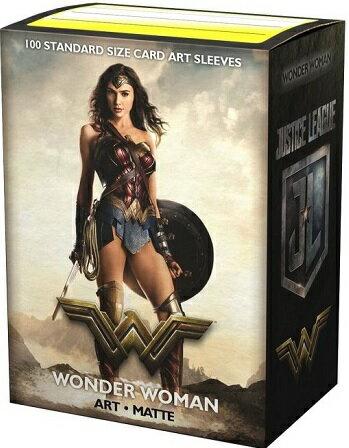 AT-16017 ドラゴンシールド マット スタンダードサイズ Wonder Woman(100枚入り)