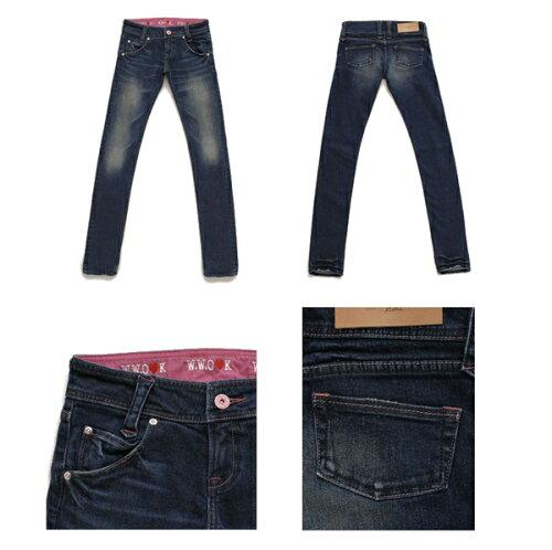 Westwood Outfitters×大屋夏南コラボデニム[myself-0001]SKINNY サイズXS カラーCBW