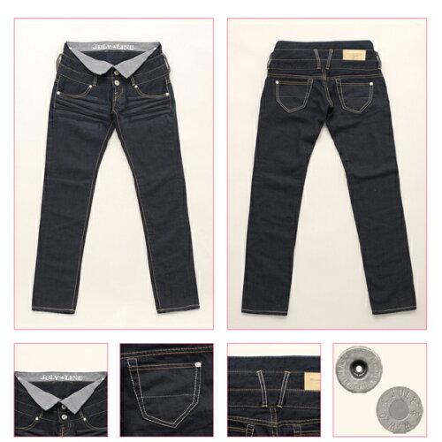Westwood Outfitters×ジュリアナコラボデニム[myself-0004]TRIPLE BELT SLIM サイズL カ...