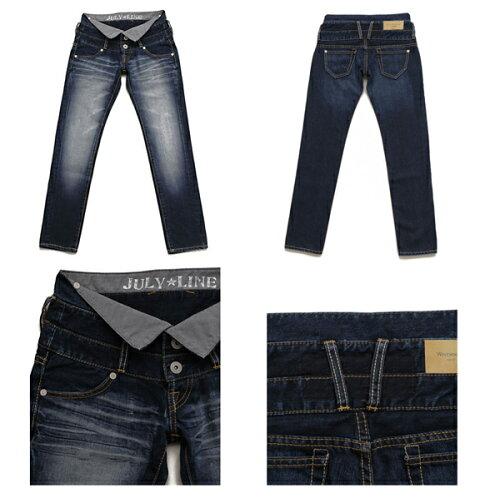 Westwood Outfitters×ジュリアナコラボデニム[myself-0004]TRIPLE BELT SLIM サイズXS ...