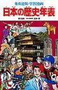 日本の歴史年表 (集英社版・学習漫画日本の歴史) [ 笠原一男 ]