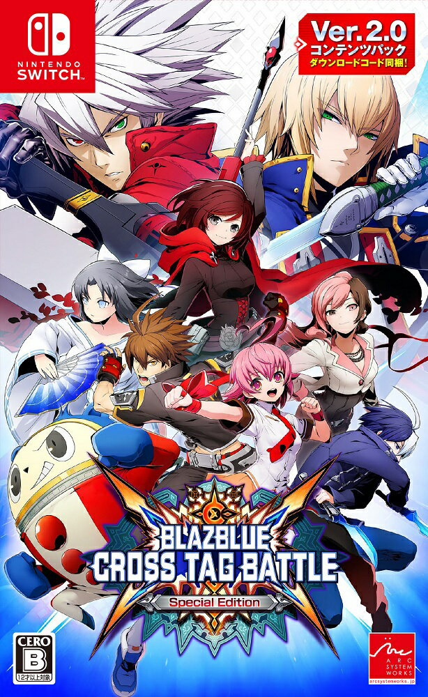 BLAZBLUE CROSS TAG BATTLE Special Edition Nintendo Switch版画像