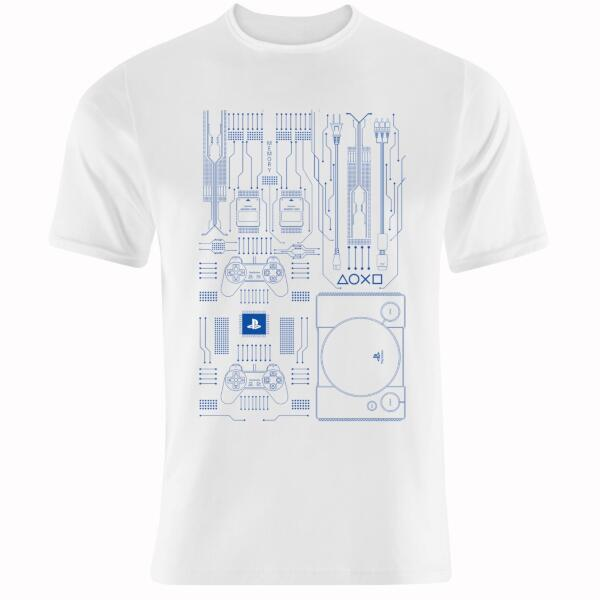 Tシャツ for PlayStation (白) M