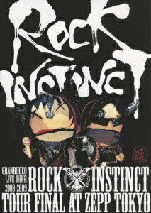 "GRANRODEO LIVE TOUR 2008-2009 ""ROCK INSTINCT""LIVE DVD画像"