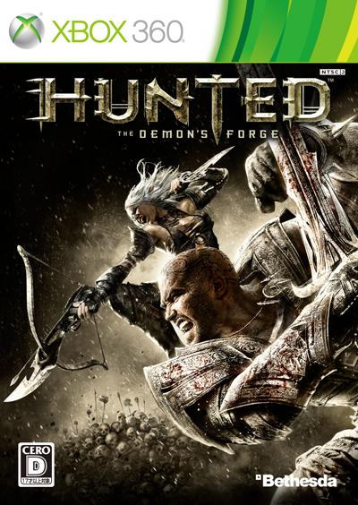 Xbox360, ソフト HUNTEDThe Demons Forge Xbox360
