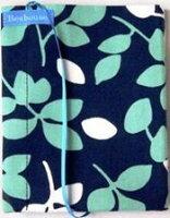 Beahouse ブックカバー フリーサイズ リーフブルー FSB022RBU