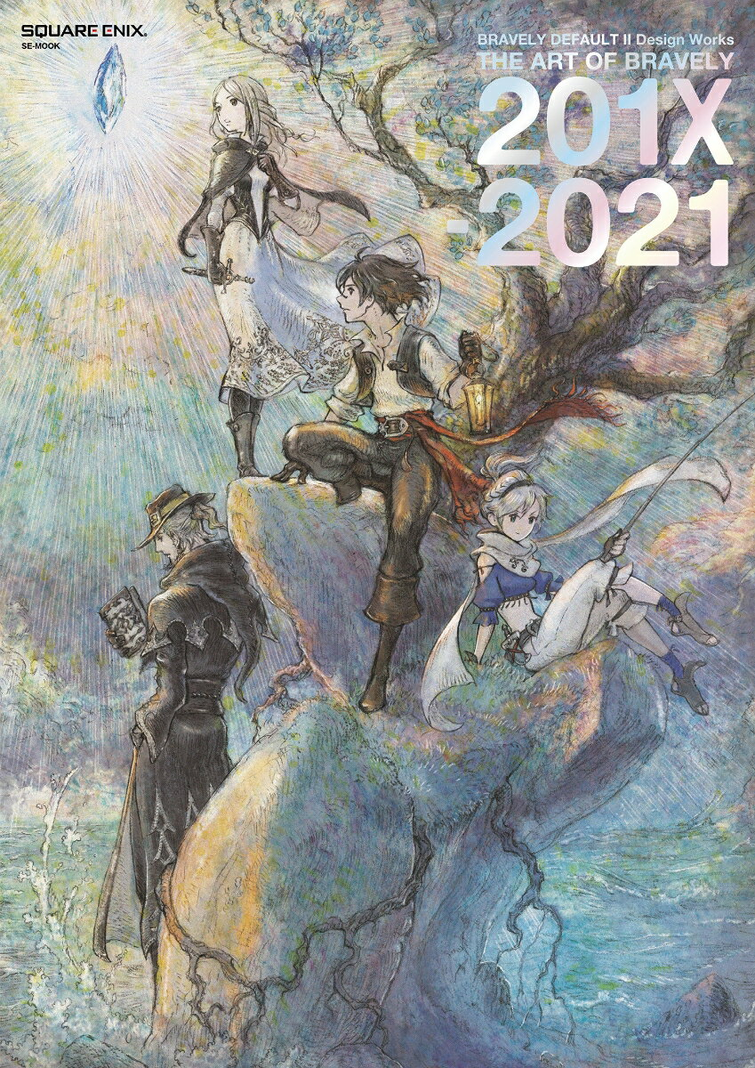 BRAVELY DEFAULT II Design Works THE ART OF BRAVELY 2021画像