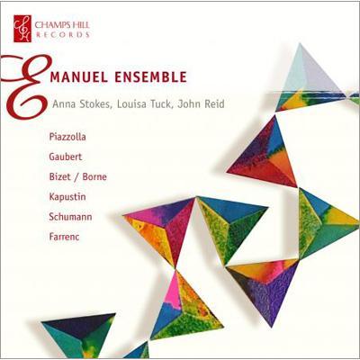 【輸入盤】Emanuel Ensemble Borne, Farrenc, Gaubert, Kapustin, Piazzolla, Schumann画像