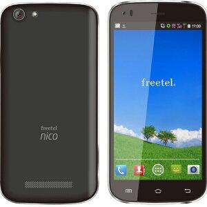 freetel SIMフリー スマートフォン Nico ブラック FT141B_NICO_BK (Android 4.4 / 5.0inch / 標準 SIM Dual SIM )