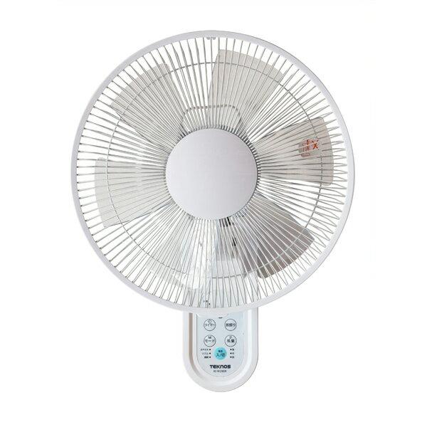 TEKNOS 壁掛け扇風機 30cm フルリモコン フラットガード KI-W280R