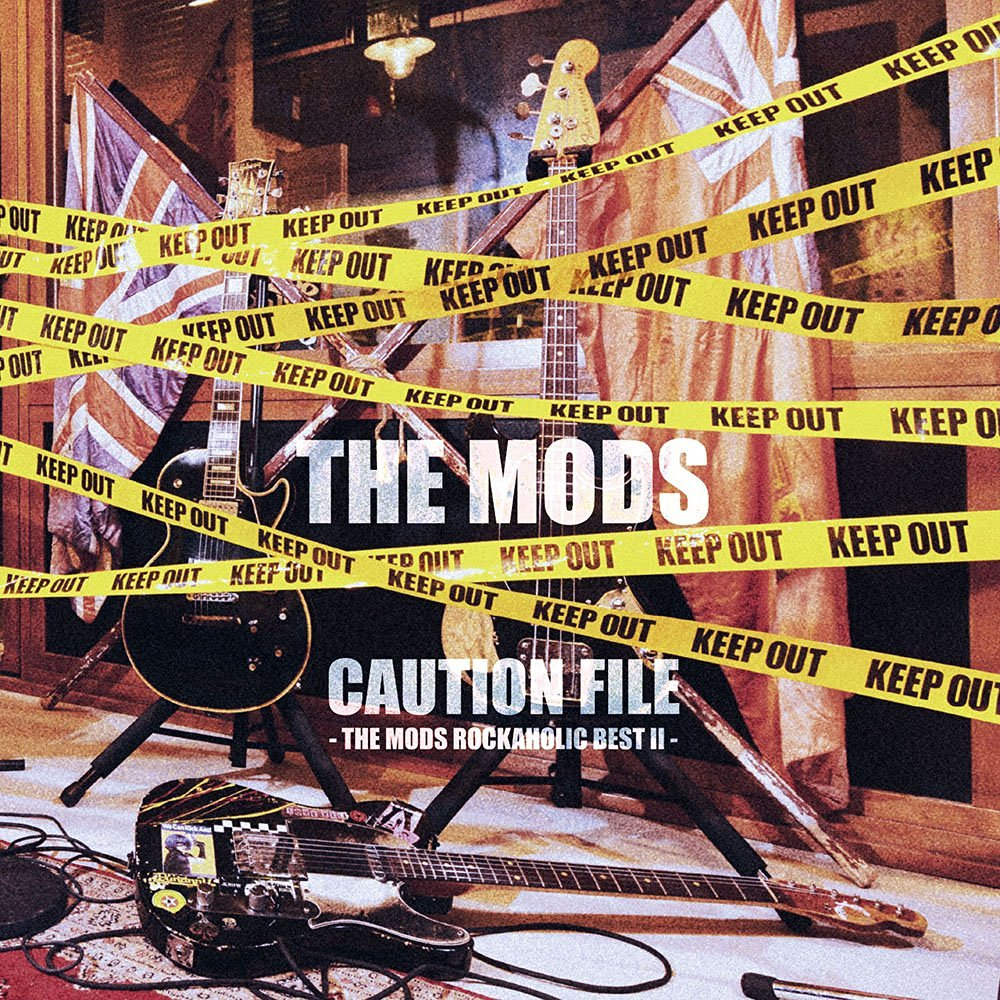 CAUTION FILE -THE MODS ROCKAHOLIC BEST2-画像
