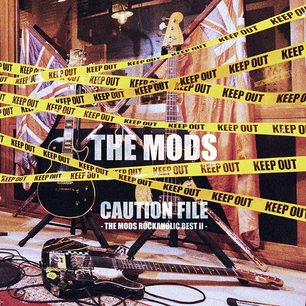 CAUTION FILE -THE MODS ROCKAHOLIC BEST2-画像