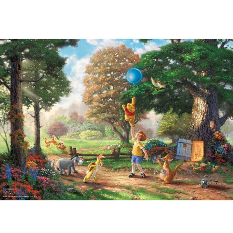 ジグソーパズル くまのプーさん Winnie The Pooh 2【1000ピース】(51x73.5cm) 1000ピース