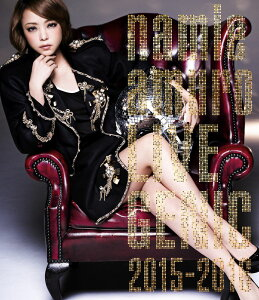 namie amuro LIVEGENIC 2015-2016【Blu-ray】 [ 安室奈美…