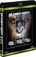 猿の惑星 プリクエル ブルーレイコレクション<3枚組>