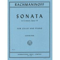 【輸入楽譜】ラフマニノフ, Sergei: チェロ・ソナタ ト短調 Op.19