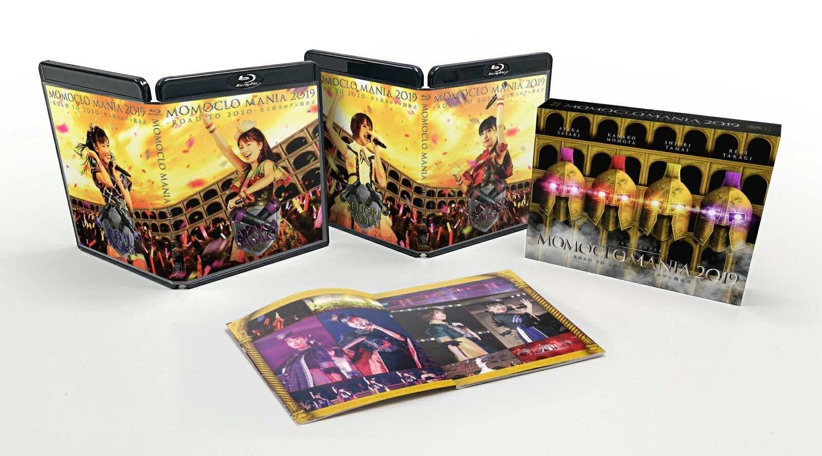 MOMOCLO MANIA 2019 ROAD TO 2020 史上最大のプレ開会式 LIVE DVD