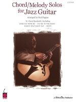 【輸入楽譜】ジャズ・ギターのためのコード/メロディ・ソロ曲集(TAB譜)/Peppas編曲