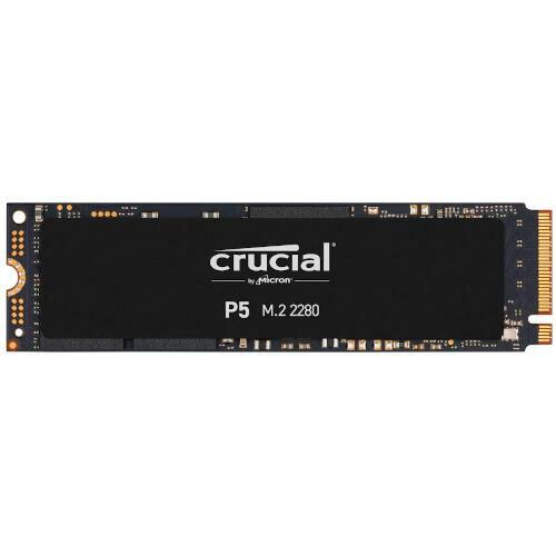 [Micron製] 内蔵SSD M.2 P5シリーズ 1TB (Read:3400MBs/Write:3000MBs/5年保証) 国内正規品 CT1000P5SSD8JP