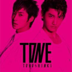 【送料無料】TONE(CD+DVD ジャケットA) [ 東方神起 ]