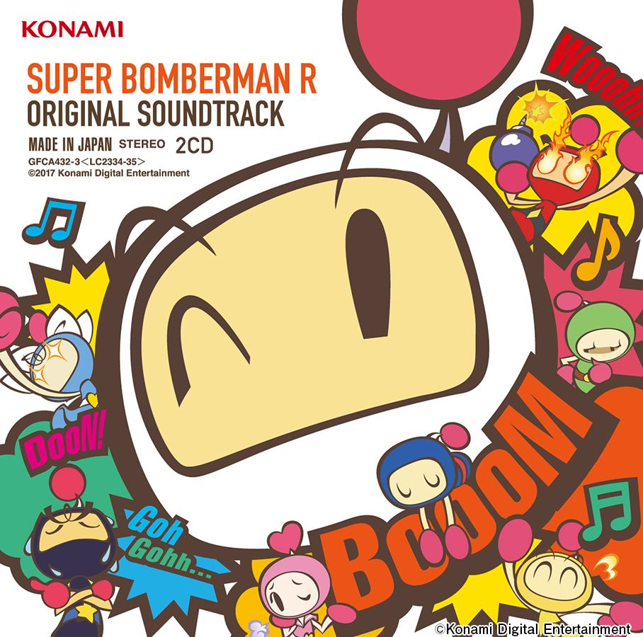 SUPER BOMBERMAN R ORIGINAL SOUNDTRACK画像