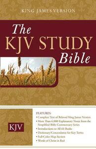 Study Bible-KJV B-KJ-BAR RL (King James Bible) [ Barbour Publishing ]