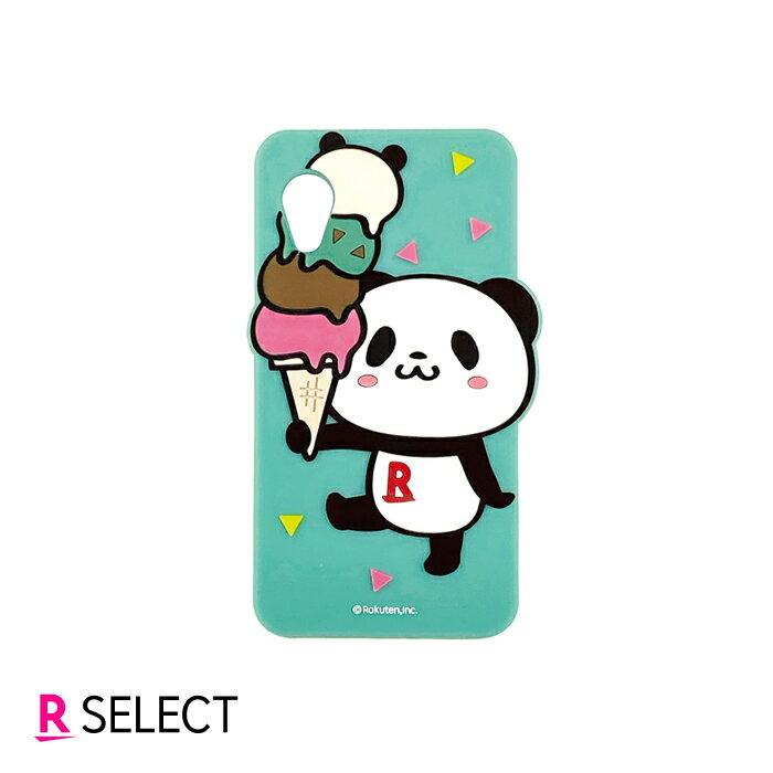 Rakuten Mini お買いものパンダ シリコンケース グリーン
