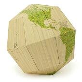 geografia/組立式地球儀 マテリアル ウッド SGM-S-W
